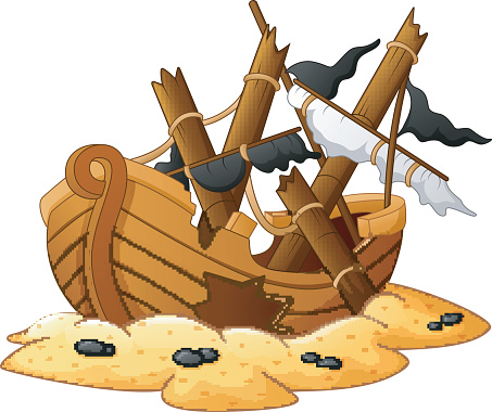 Shipwrecked Scavenger Hunt and Crafts