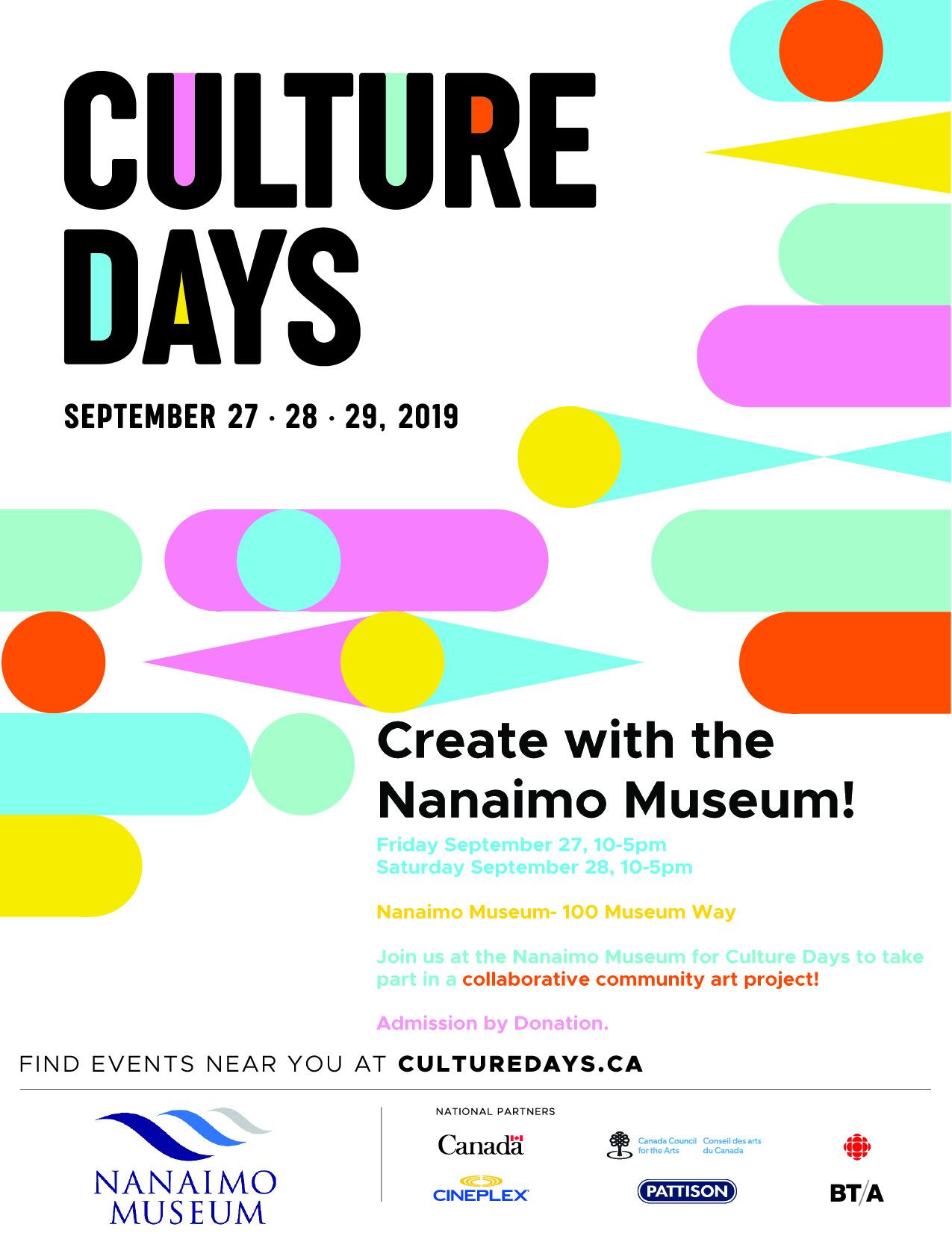 Culture Days 2019!