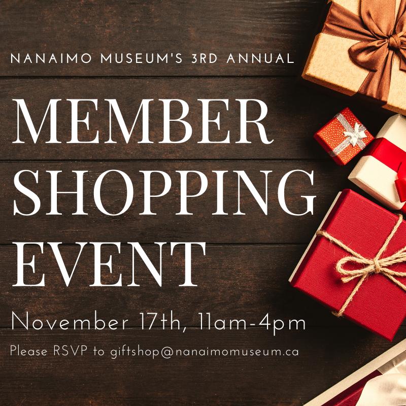 Member Appreciation Shopping Event