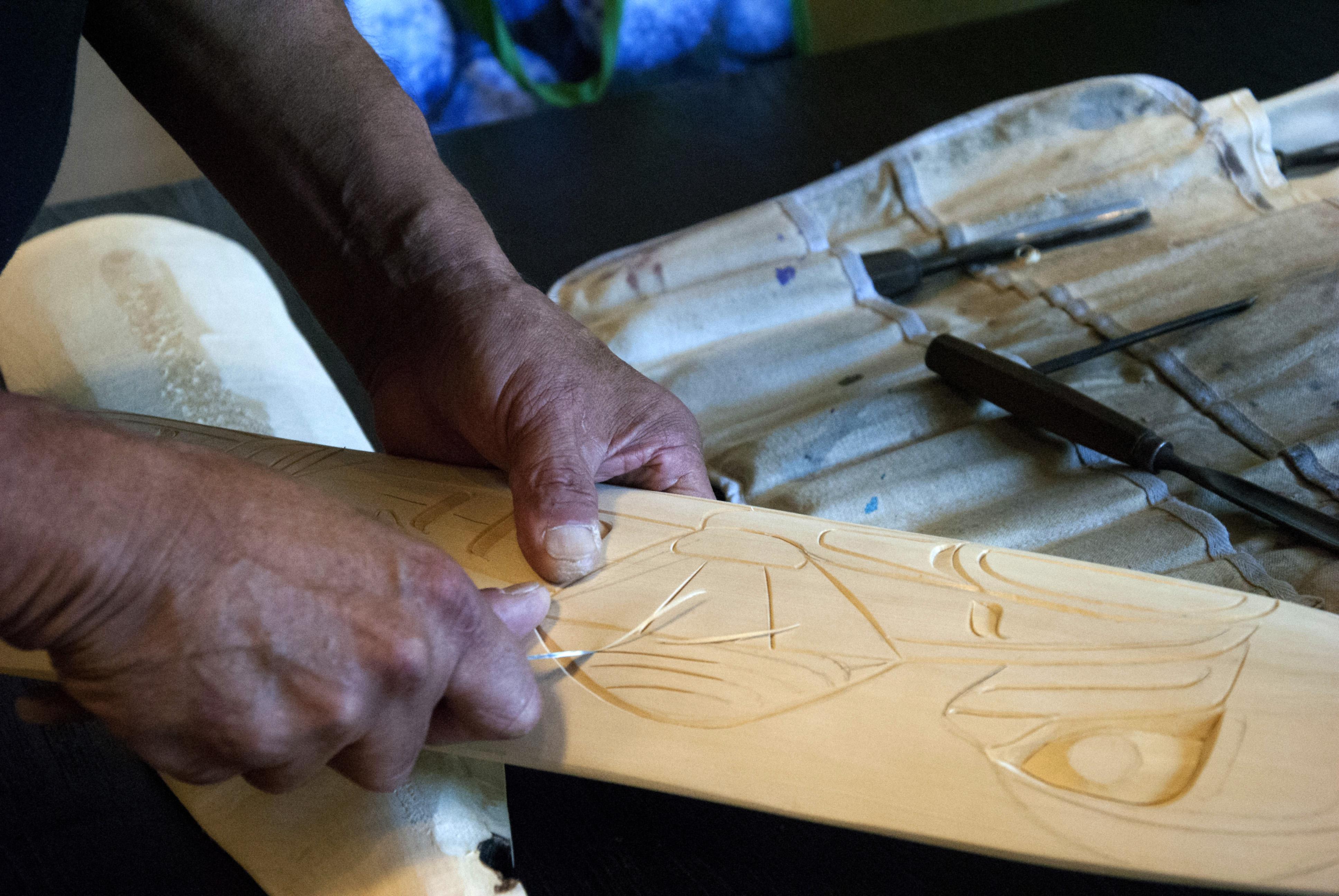 Heiltsuk Carving