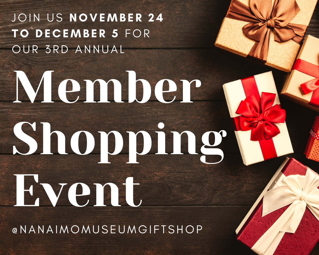 Member Shopping Event 2020